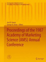 Omslag - Proceedings of the 1987 Academy of Marketing Science (AMS) Annual Conference