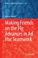 Omslag - Making Friends on the Fly: Advances in Ad Hoc Teamwork