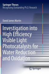Omslag - Investigation into High Efficiency Visible Light Photocatalysts for Water Reduction and Oxidation