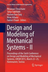 Omslag - Design and Modeling of Mechanical Systems: Part II
