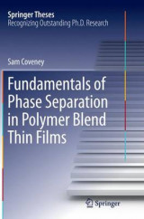 Omslag - Fundamentals of Phase Separation in Polymer Blend Thin Films