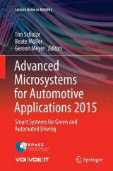 Omslag - Advanced Microsystems for Automotive Applications 2015