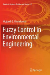 Omslag - Fuzzy Control in Environmental Engineering