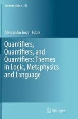 Omslag - Quantifiers, Quantifiers, and Quantifiers: Themes in Logic, Metaphysics, and Language