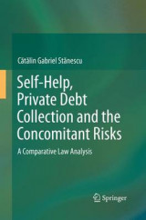 Omslag - Self-Help, Private Debt Collection and the Concomitant Risks