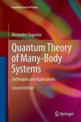 Omslag - Quantum Theory of Many-Body Systems