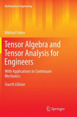 Omslag - Tensor Algebra and Tensor Analysis for Engineers