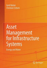 Omslag - Asset Management for Infrastructure Systems