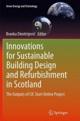 Omslag - Innovations for Sustainable Building Design and Refurbishment in Scotland