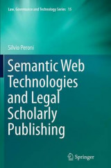 Omslag - Semantic Web Technologies and Legal Scholarly Publishing