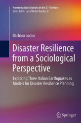 Omslag - Disaster Resilience from a Sociological Perspective