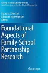 Omslag - Foundational Aspects of Family-School Partnership Research