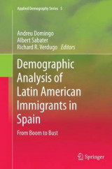 Omslag - Demographic Analysis of Latin American Immigrants in Spain