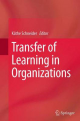 Omslag - Transfer of Learning in Organizations