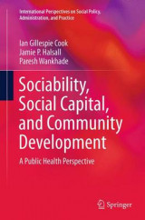 Omslag - Sociability, Social Capital, and Community Development