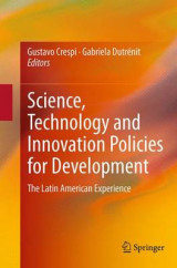 Omslag - Science, Technology and Innovation Policies for Development