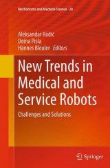 Omslag - New Trends in Medical and Service Robots