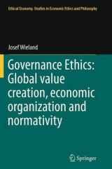 Omslag - Governance Ethics: Global Value Creation, Economic Organization and Normativity