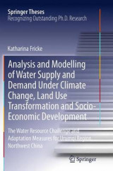Omslag - Analysis and Modelling of Water Supply and Demand Under Climate Change, Land Use Transformation and Socio-Economic Development