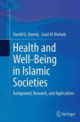 Omslag - Health and Well-Being in Islamic Societies