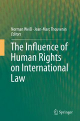 Omslag - The Influence of Human Rights on International Law