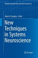 Omslag - New Techniques in Systems Neuroscience