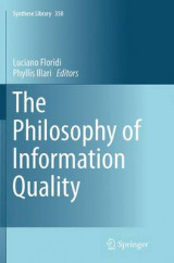 Omslag - The Philosophy of Information Quality