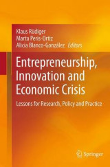 Omslag - Entrepreneurship, Innovation and Economic Crisis