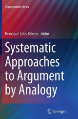 Omslag - Systematic Approaches to Argument by Analogy