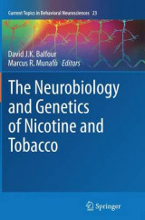 Omslag - The Neurobiology and Genetics of Nicotine and Tobacco