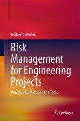 Omslag - Risk Management for Engineering Projects