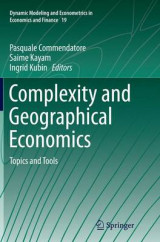 Omslag - Complexity and Geographical Economics