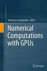 Omslag - Numerical Computations with GPUs