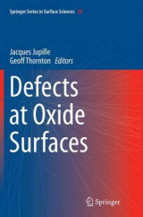 Omslag - Defects at Oxide Surfaces