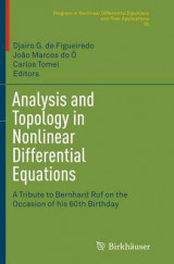 Omslag - Analysis and Topology in Nonlinear Differential Equations