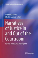 Omslag - Narratives of Justice in and Out of the Courtroom
