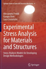 Omslag - Experimental Stress Analysis for Materials and Structures