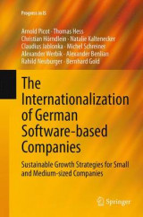Omslag - The Internationalization of German Software-Based Companies
