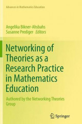 Omslag - Networking of Theories as a Research Practice in Mathematics Education