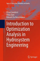 Omslag - Introduction to Optimization Analysis in Hydrosystem Engineering