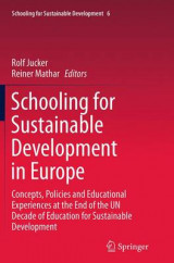 Omslag - Schooling for Sustainable Development in Europe