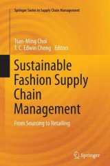 Omslag - Sustainable Fashion Supply Chain Management