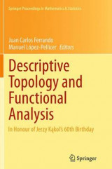 Omslag - Descriptive Topology and Functional Analysis