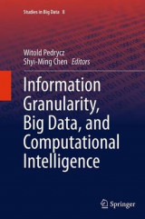 Omslag - Information Granularity, Big Data, and Computational Intelligence