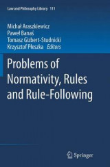 Omslag - Problems of Normativity, Rules and Rule-Following