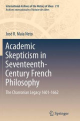Omslag - Academic Skepticism in Seventeenth-Century French Philosophy