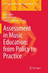 Omslag - Assessment in Music Education: From Policy to Practice