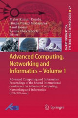 Omslag - Advanced Computing, Networking and Informatics: Volume 1