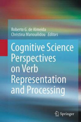 Omslag - Cognitive Science Perspectives on Verb Representation and Processing