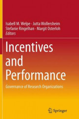 Omslag - Incentives and Performance